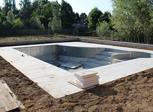 Construction piscine Brabant wallon